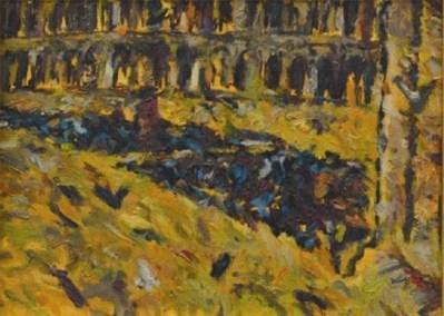 Piazza San Marco Pidgeons 1993 no frame - 9x12