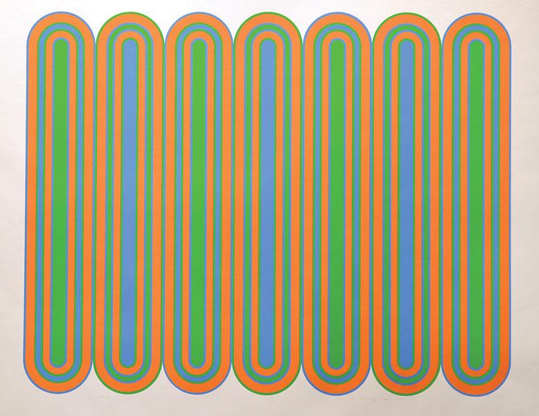 """Harry Kiyooka  """"3×4""""  Silent Auction Lot #121"""