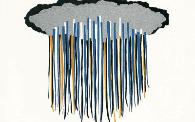 "Katie Ohe  ""Deluge"" 2010, Silent Auction Lot#128"