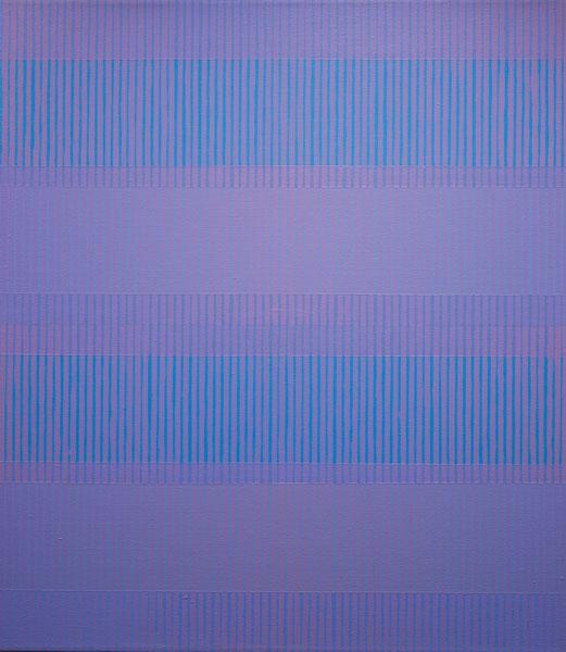 """Paul Kuhn """"PAINTING 7-IV-16"""", 2016 32"""" x 28"""" Acrylic on Canvas"""