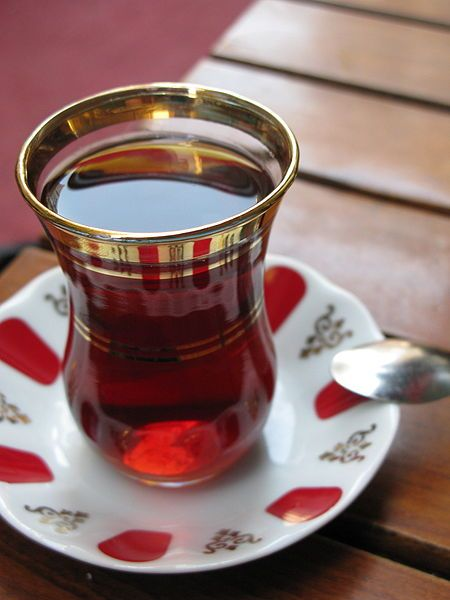 Black tea in Turkey. // Image courtesy Henri Bergius