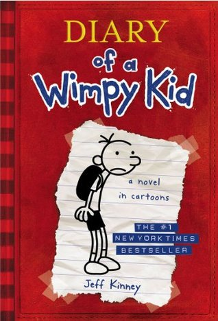 "Cover of Jeff Kinney's ""Diary of a Wimpy Kid."""