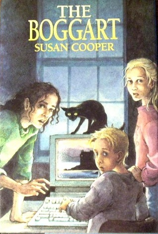 Scholastic Books edition of The Boggart by Susan Cooper