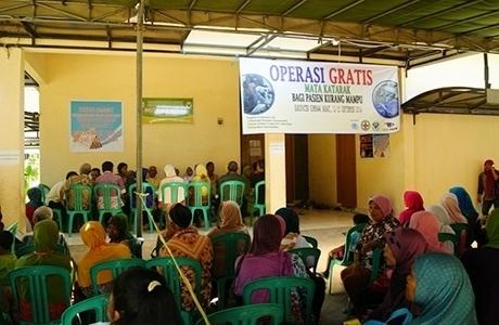 Ratusan Masyarakat Tidak Mampu Ikut Operasi Katarak dan Ptg