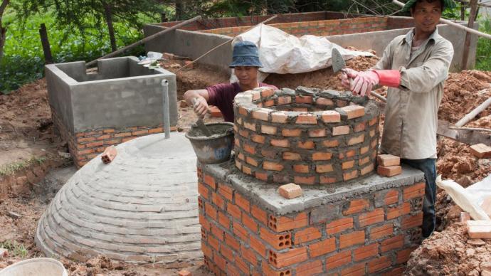 Dipertanyakan Pelaksanaan Proyek Biogas Di Desa Mantun