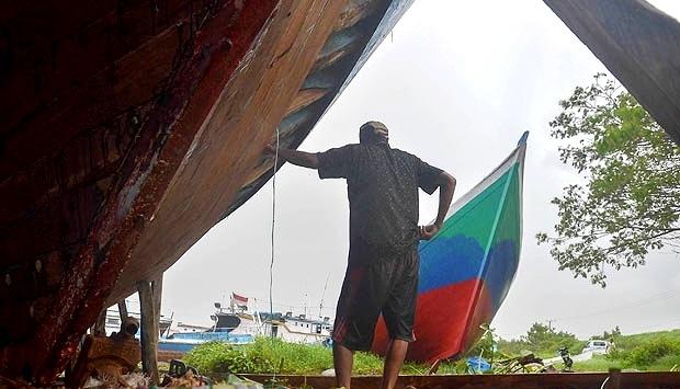 Nelayan Labuhan Lalar Harap Peduli Pemerintah Karena Tak Bisa Melaut