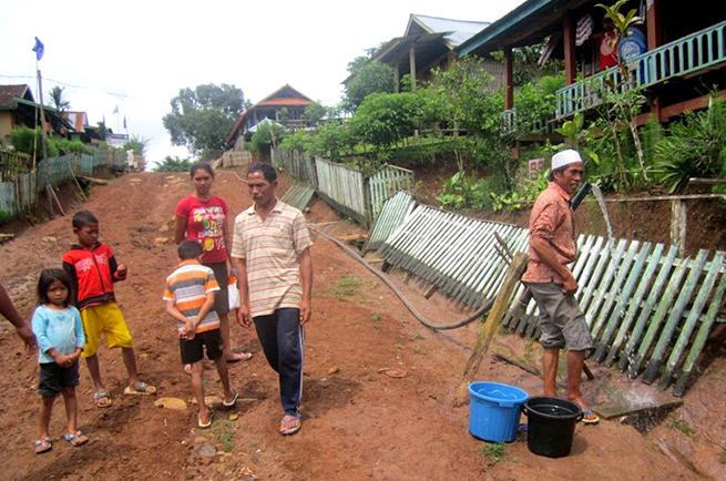 Proyek Jaringan Air Bersih di Rarak Ronges Dianggap Gagal