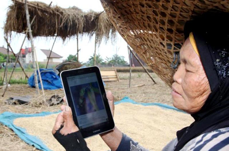 80% Desa di KSB Belum Tersentuh Jaringan Internet