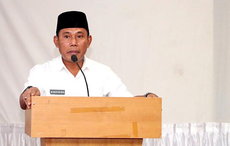 Bupati Sumbawa Barat Ancam Demosi Pejabat Berkinerja Buruk