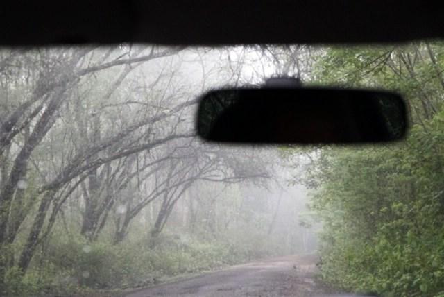 Kondisi Jalan Menuju Desa Mungkin