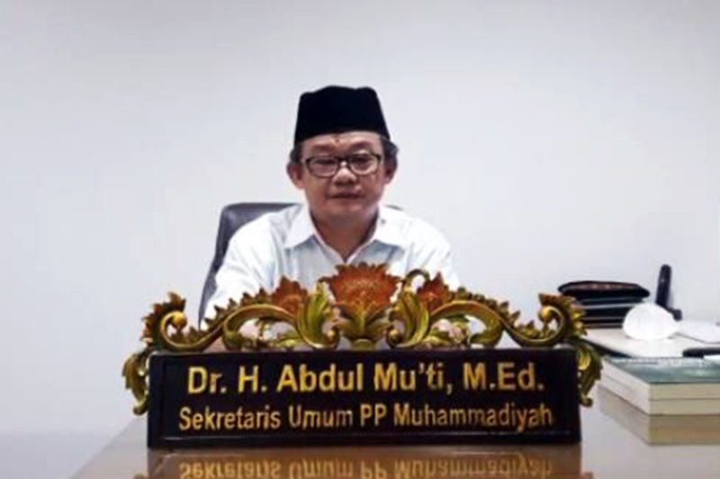 Muhammadiyah Tolak Aksi Melengserkan Pemerintahan yang Sah