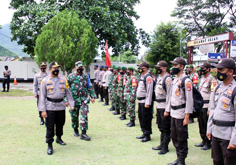 500 Orang Personil Polri dan TNI Siap Jaga TPS di Seluruh KSB