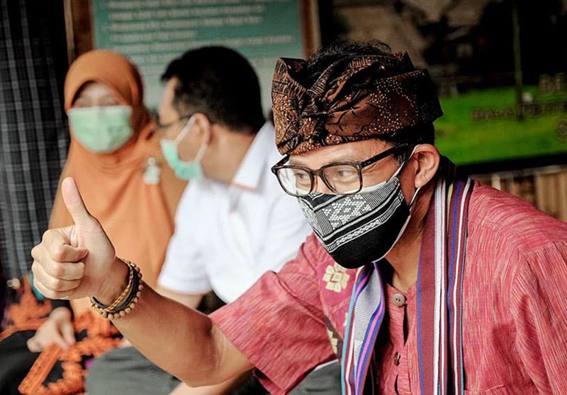 Sandiaga Uno Jajal Objek Wisata di Lombok