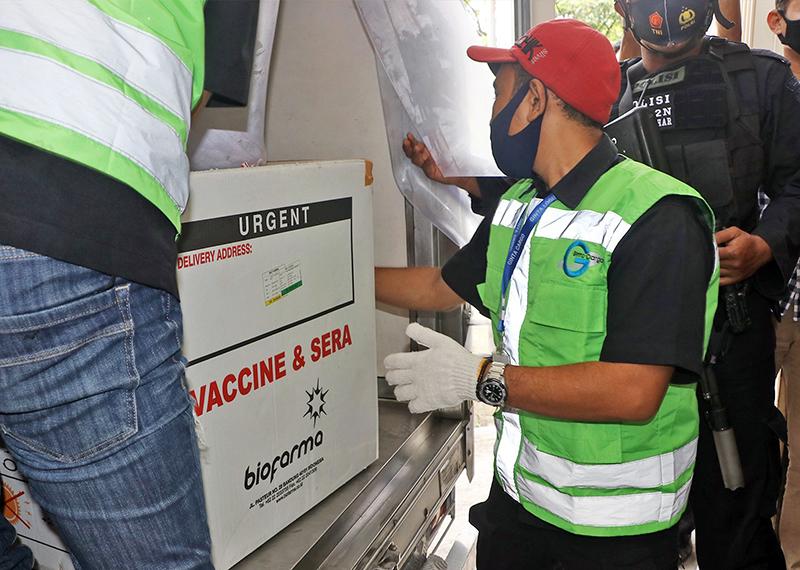 Penduduk Pulau Sumbawa Dapat Giliran Vaksinasi Covid-19
