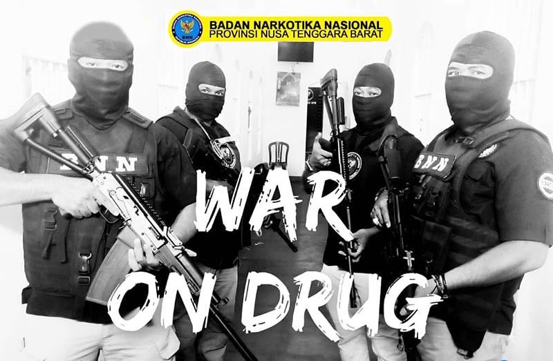 Sembunyikan Sabu di Kemaluan dan Dubur, 2 Orang Kurir Narkoba Dibekuk BNN di Bandara Lombok