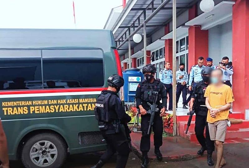 Demi Lapas Bersinar, Napi Narkoba Lapas Mataram Dipindahkan Ke Lapas Khusus Narkoba di Bali
