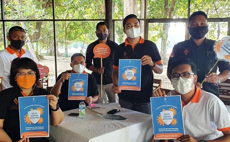 Pelaku Pariwisata di Lombok Telah Disuntik Vaksin Covid-19