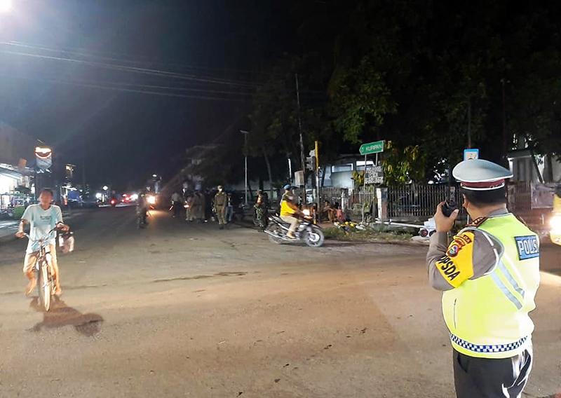Cegah Keributan Selama Bulan Ramadhan, Polisi Giat Patroli Pada Malam Hari