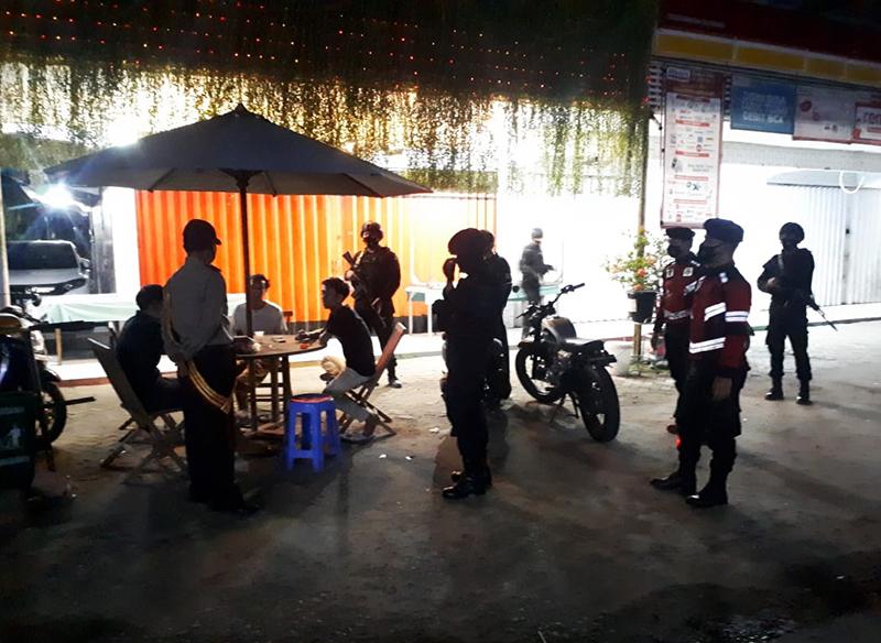 Selama Bulan Ramadhan, Tim Puma Polres Sumbawa Barat Rutin Patroli Malam Hari