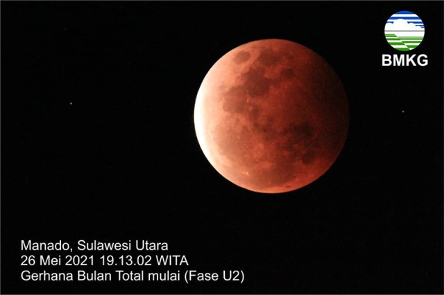Gerhana Bulan Blood Super Moon 3