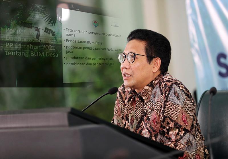 BUMDes Bisa Pegang Proyek Pemerintah, Bersaing dengan Perusahaan Swasta