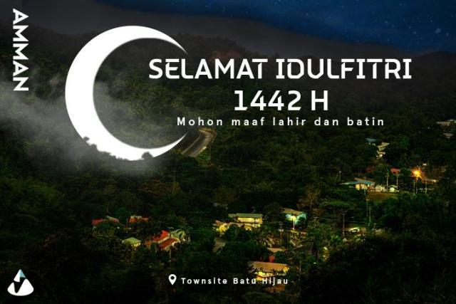 Ucapan Selamat Idul Fitri 1442 H oleh Amman