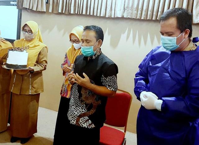 Bupati Sumbawa Barat Disuntik Vaksin Covid 19 Doa Bersama Setelah Vaksinasi
