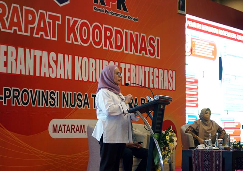KPK Ingatkan Kepala Daerah di NTB Untuk Tidak Korupsi Serta Aktif Berantas Korupsi