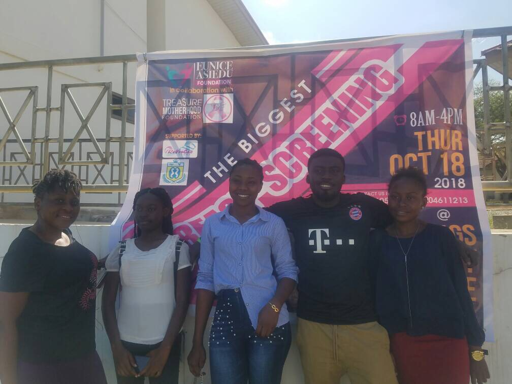 You are currently viewing The 2nd Edition of the biggest Breast Screening for the youth was a success at Kings University College, Kasoa, Accra.