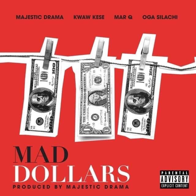 """Top American Producer features Kwaw kese on a new joint """"Mad Dollars"""