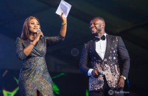 Cookie and Lexis Bill Rules the Stage as MCs At 3Music Awards