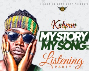 Kaphun to have listening party for his My Story My Song EP