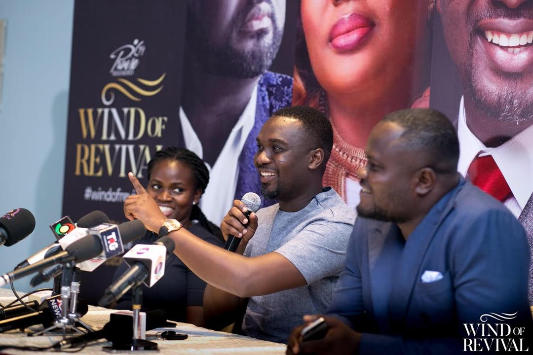 You are currently viewing Joe Mettle to hold Wind of Revival Concert, 30th June – Perez Dome