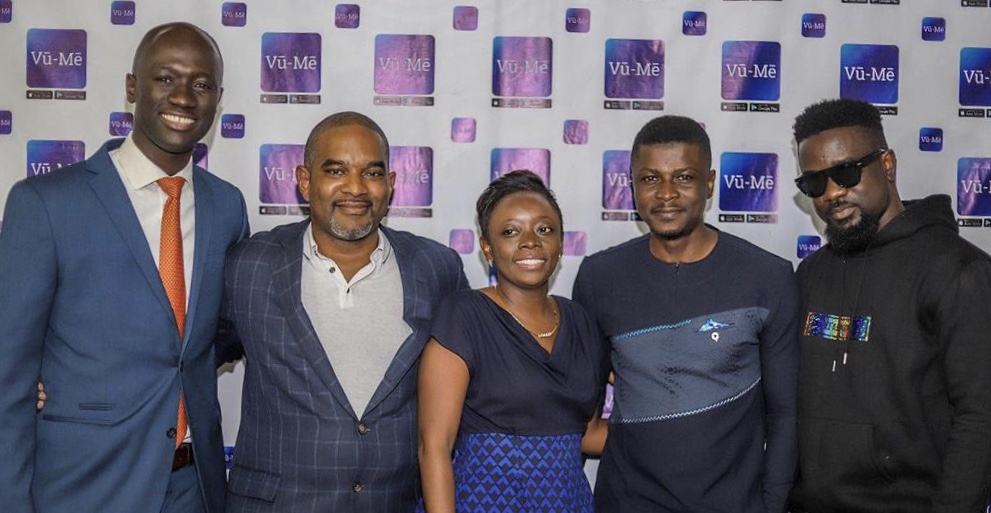Join Vū-Mē: Sarkodie, Lexis Bill, Bridget Otoo and others interact with Vū-Mē CEO and Executives