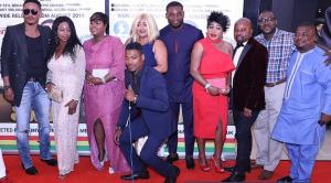 SHUKI movie: See how the London premiere hadFrank Artus & Peter Ritchie + others brought Broadway Theatre Cinema to a standstill – photos speak!