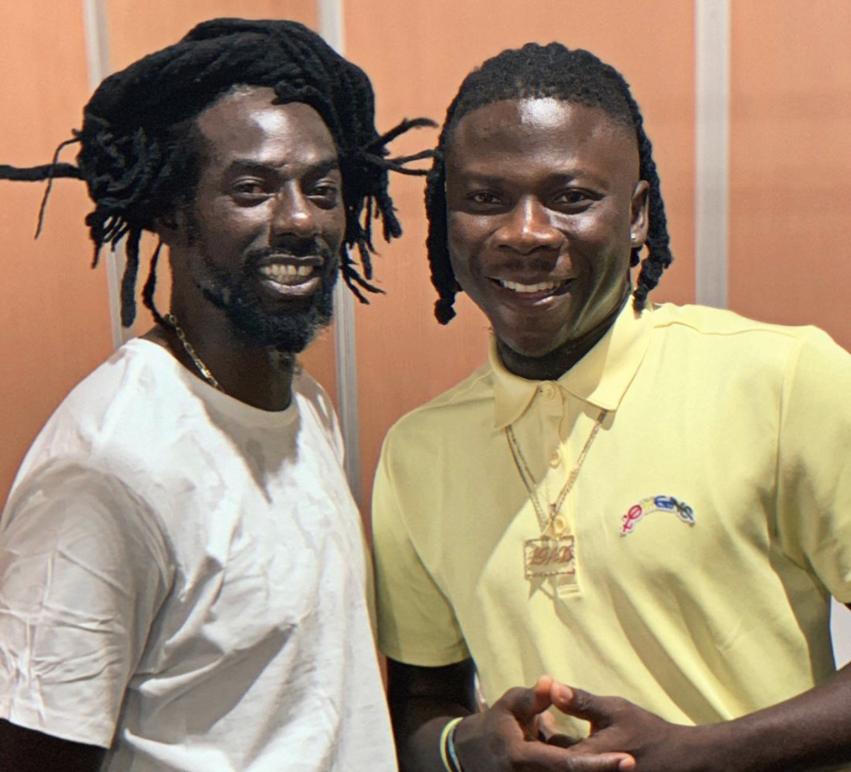 A collaboration with Buju Banton and other top artistes may be in the offing – Stonebwoy