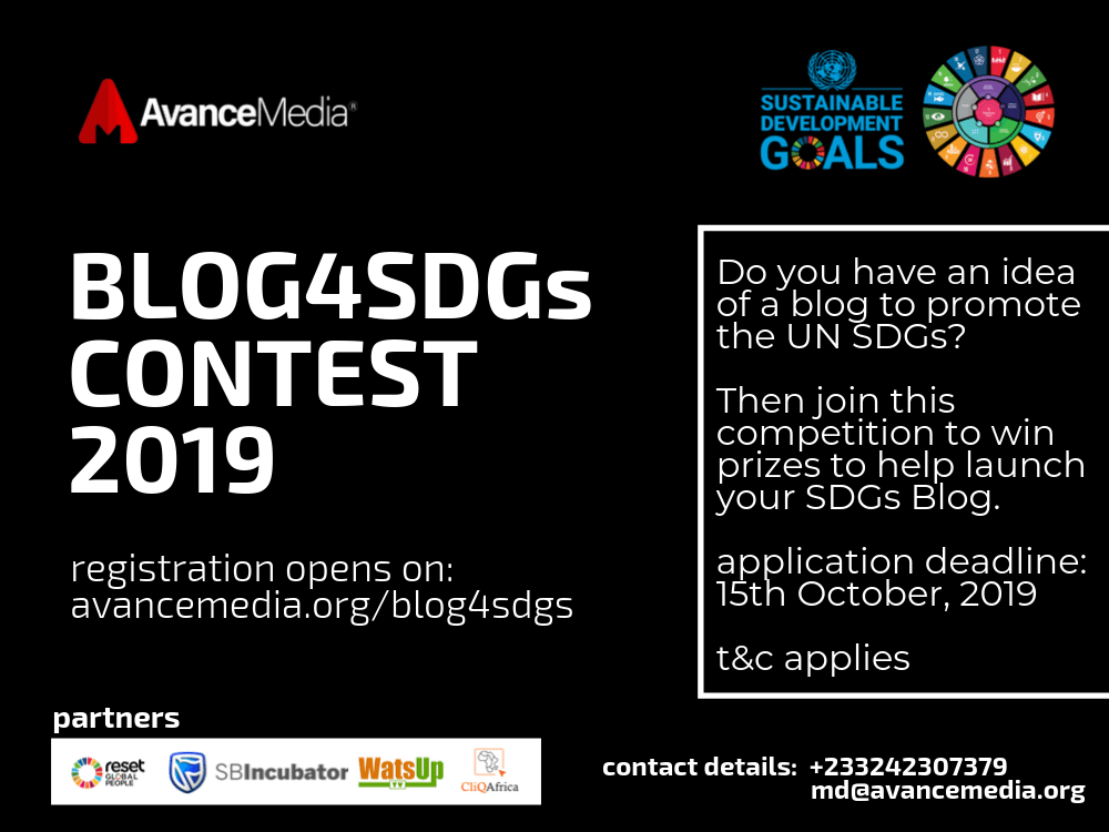 Blog4SDGs Contest announced for writers and bloggers