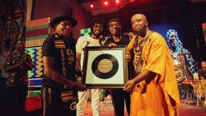 Trigmatic Honors Ebo Taylor at Osagyefo's Night 2019