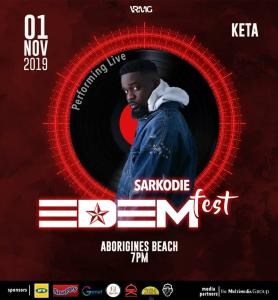 Read more about the article Sarkodie and Obrafour join Edemfest 2019 line up