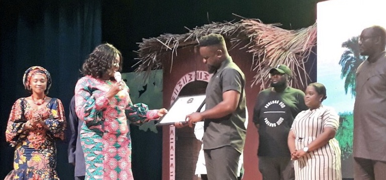 Just IN: Sarkodie made Ambassador for the year of Return.