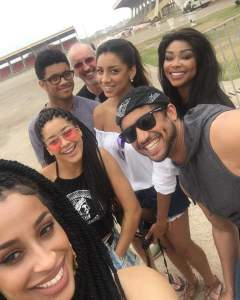 Stephanie Benson's beautiful family back to Ghana for Xmas Holidays