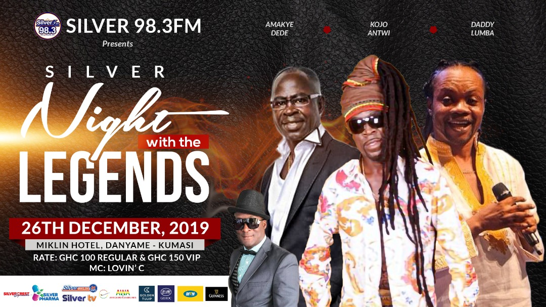 """Silver Fm Presents """"Silver  Night With The Legends"""""""