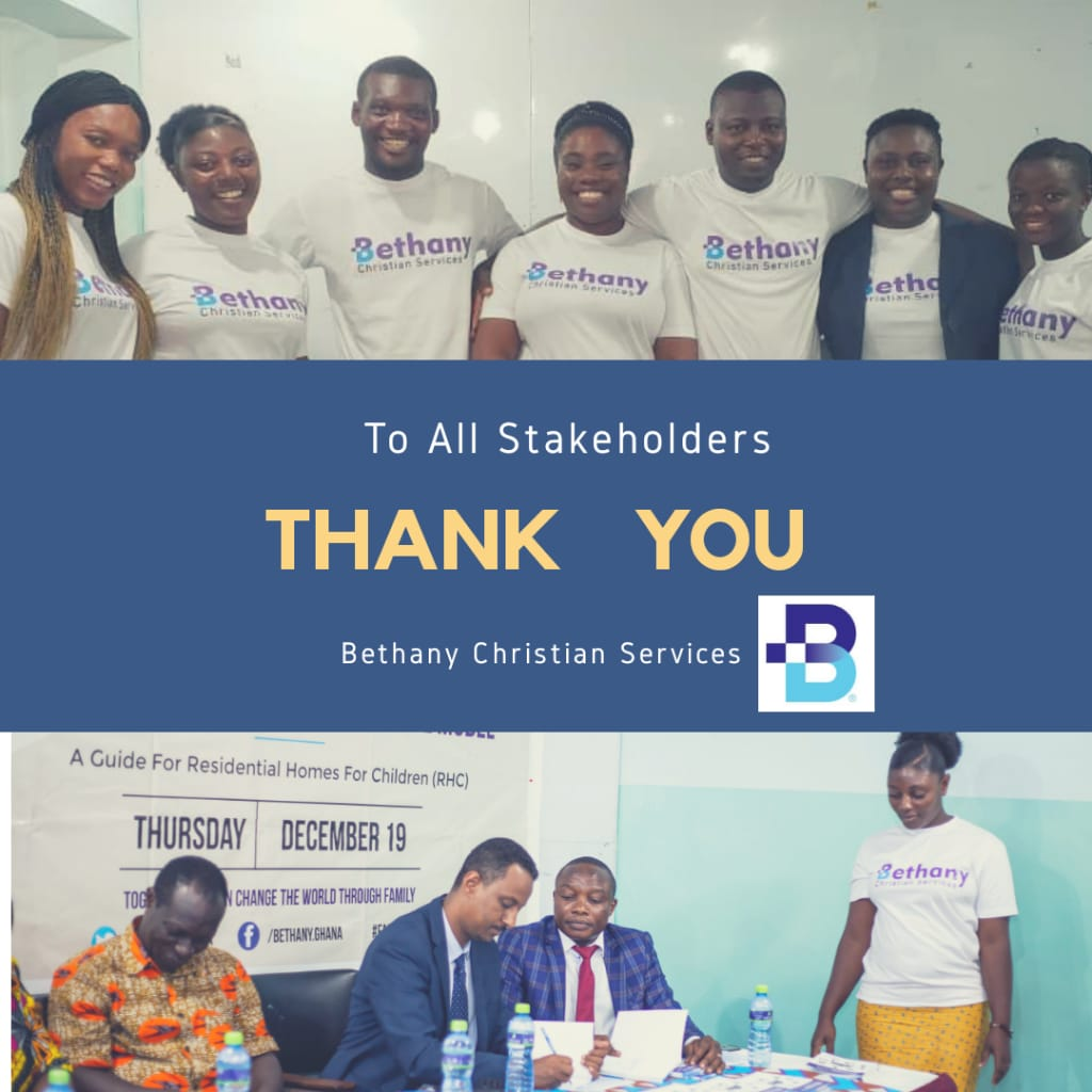 "BETHANY CHRISTIAN SERVICES SUCCESSFULLY LAUNCH ""DOCUMENT"" DEINSTITUTIONALISATION PRACTICE MODEL – A Guide For Residential Homes For Children (RHC)"