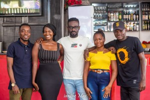 Lunch With Kobby Kyei; Blogger Dines With Fans At Sweet Aroma Restaurant (PHOTOS)