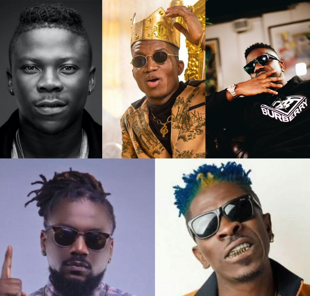 Shocking! All Time YouTube Views of Some Top Ghanaian Musicians