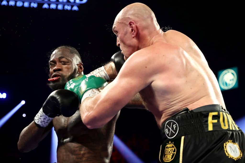 TYSON FURY Vrs DEONTAY WILDER: Fury Knocks Out Wilder in 7th Round