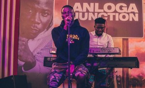 Stonebwoy Speaks Against Racism During His Billboard Live At-Home Performance