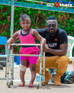 #GoThereWithKobbyKyei: The Sad Story Of Physically Challenged 7 Year Old Blessing Whose Father Is Also Disabled – PHOTOS