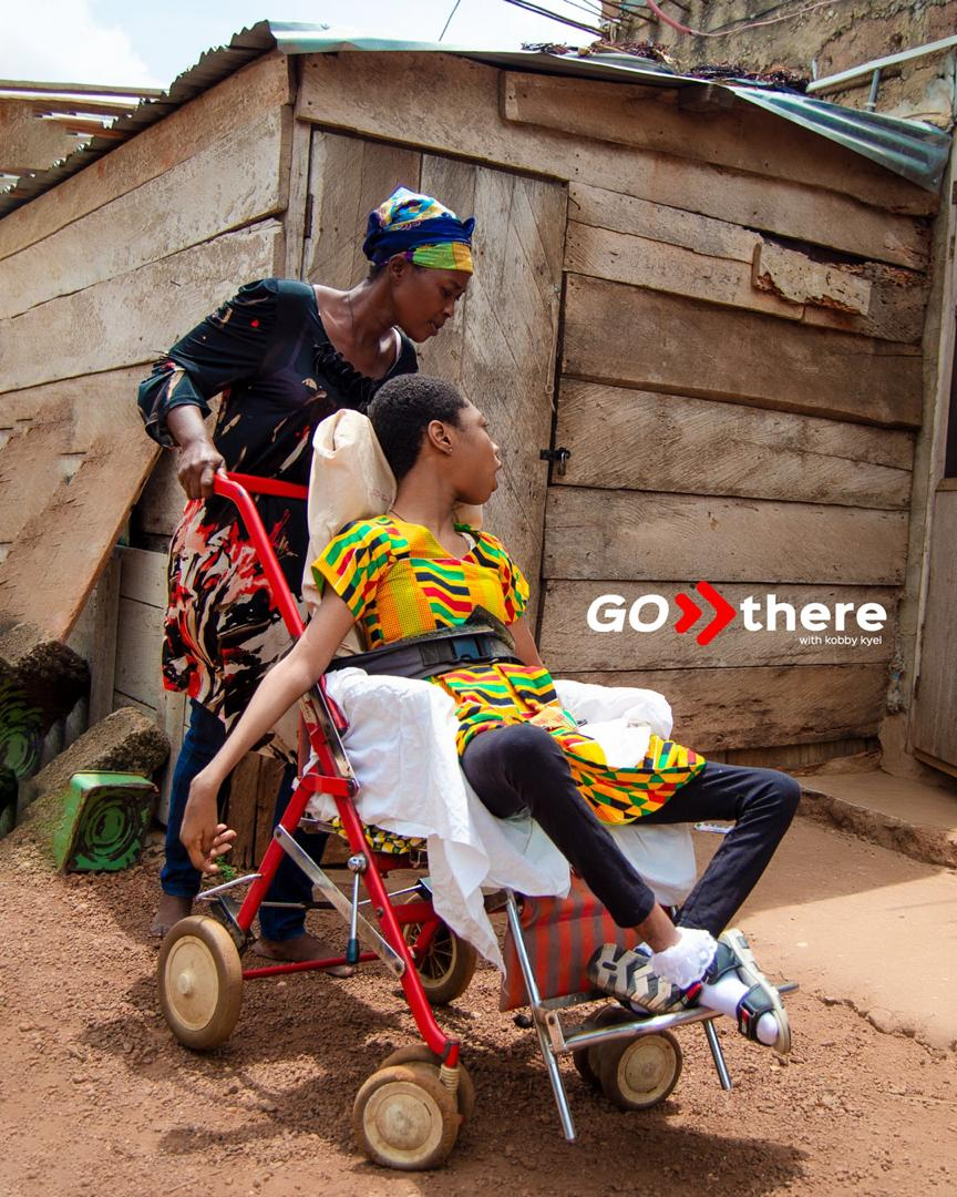 GoThereWithKobbyKyei: 14 Year Old Disabled Due To Nurses Negligence (Video)