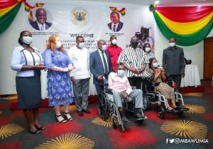 Ghana Federation of Disability Organizations Receives 20,000 New Wheelchairs From Government